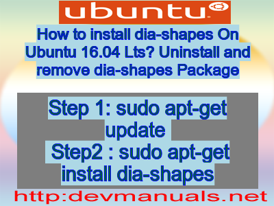How to install dia shapes on ubuntu 1604 lts uninstall and remove how to install dia shapes on ubuntu 1604 lts uninstall and remove dia shapes package ccuart Image collections