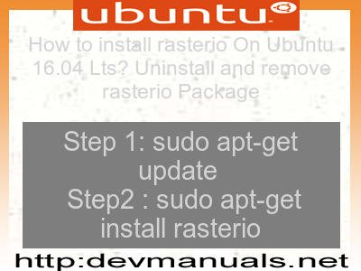 How to install rasterio On Ubuntu 16 04 Lts? Uninstall and
